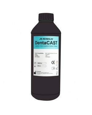 Asiga DentaCAST 3D printer resin 1kg