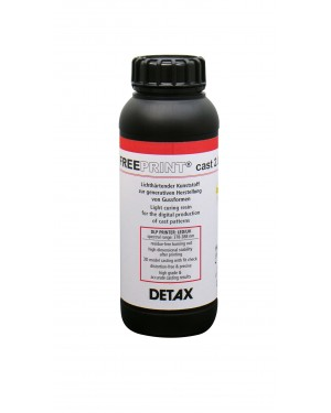 DETAX FREEPRINT CAST 385 1 Kg 3D Printer Resin