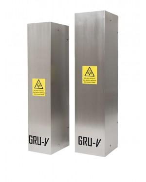 GRU-V® Wall-Mountable UV Air Purifier - Kills airborne bacteria & viruses including Coronavirus & COVID-19
