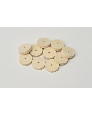 Bracon Felt Wheels - Pk 10