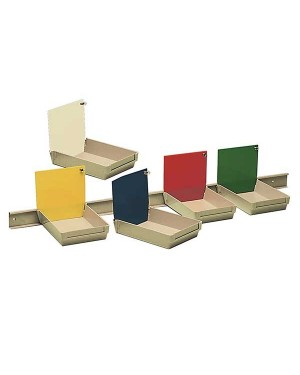 Mestra Model Work Trays - Red - Pack of 10
