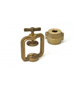 Clamp for Single Brass Crown / Eye Flask