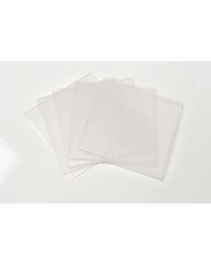 3mm Hard/Soft Dual Laminate Blanks - Square (Pk 5)