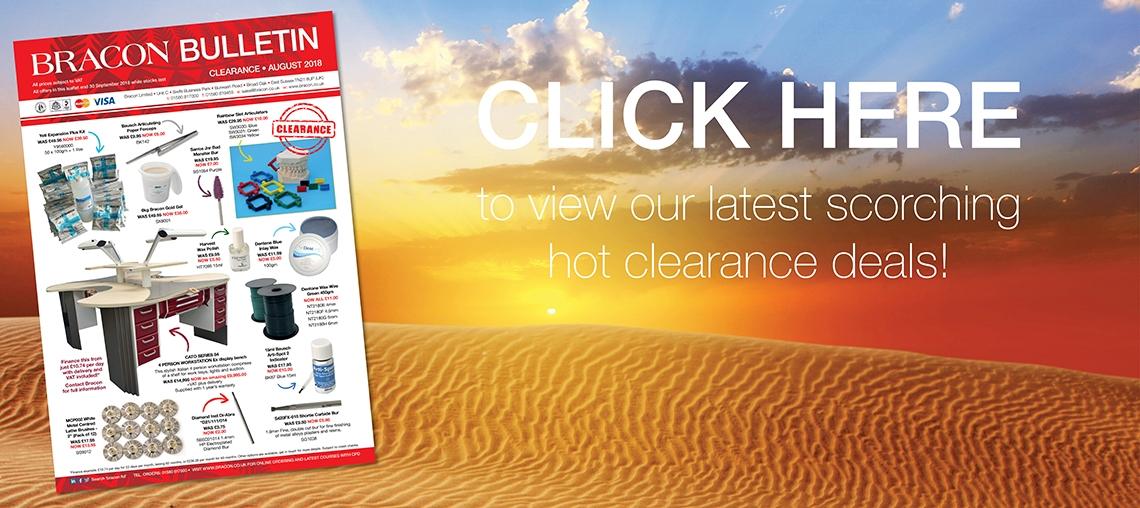 Aug&Sep Clearance Bulletin